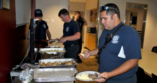 Business Journal virtual attendees feed first responders