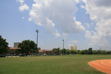 The 13-acre Harmon Field in downtown Charleston now has public Wi-Fi at the baseball field, playground and the areas near the Charleston Development Academy. (Photo/Charleston Parks Conservancy)