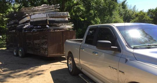 Companies dismantle mattresses, recycle, resell pieces and parts