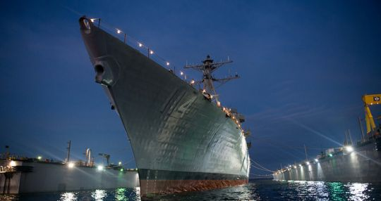 USS Ralph Johnson to be commissioned in Charleston