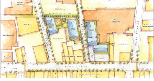Redevelopment Plans For Morris Sokol Site Taking Shape Charleston Business Journal
