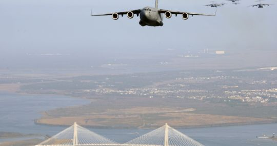 Joint Base Charleston to provide support in training exercise