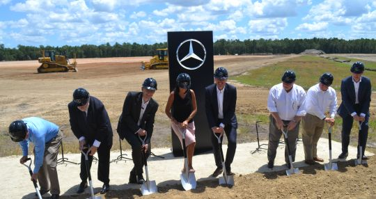 Mercedes-Benz Vans breaks ground on $500M automotive campus in North Charleston