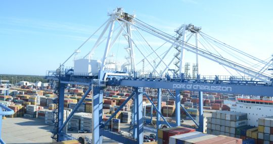 Cargo volumes flat year over year at port