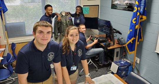 Students taking flight in Air Force summer program