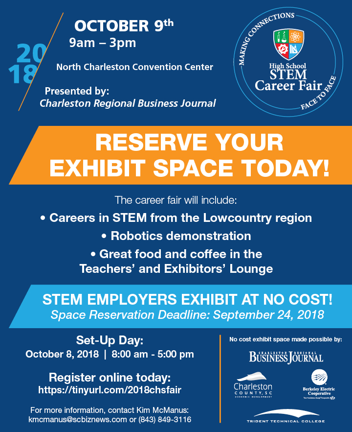 Charleston High School STEM Career Fair - October 9, 2018