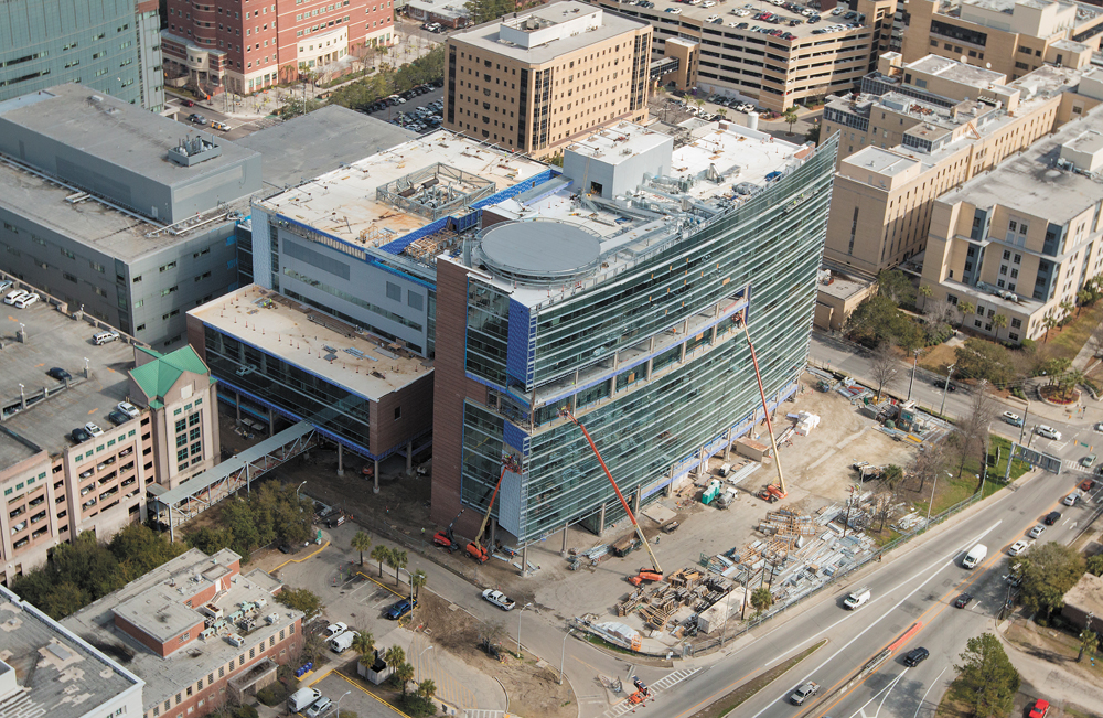 The opening of the MUSC Shawn Jenkins Children's Hospital and Pearl Tourville Women's Pavilion has been delayed. (Photo/Sarah Pack for MUSC)