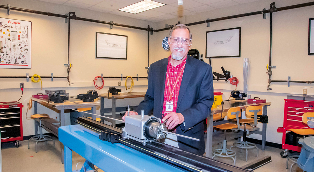 Barry Franco is dean of Trident Technical College's Aeronautical Studies division.