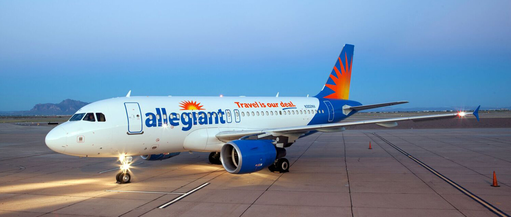 Allegiant will bring new service to Charleston International Airport in April. (Photo/Allegiant)