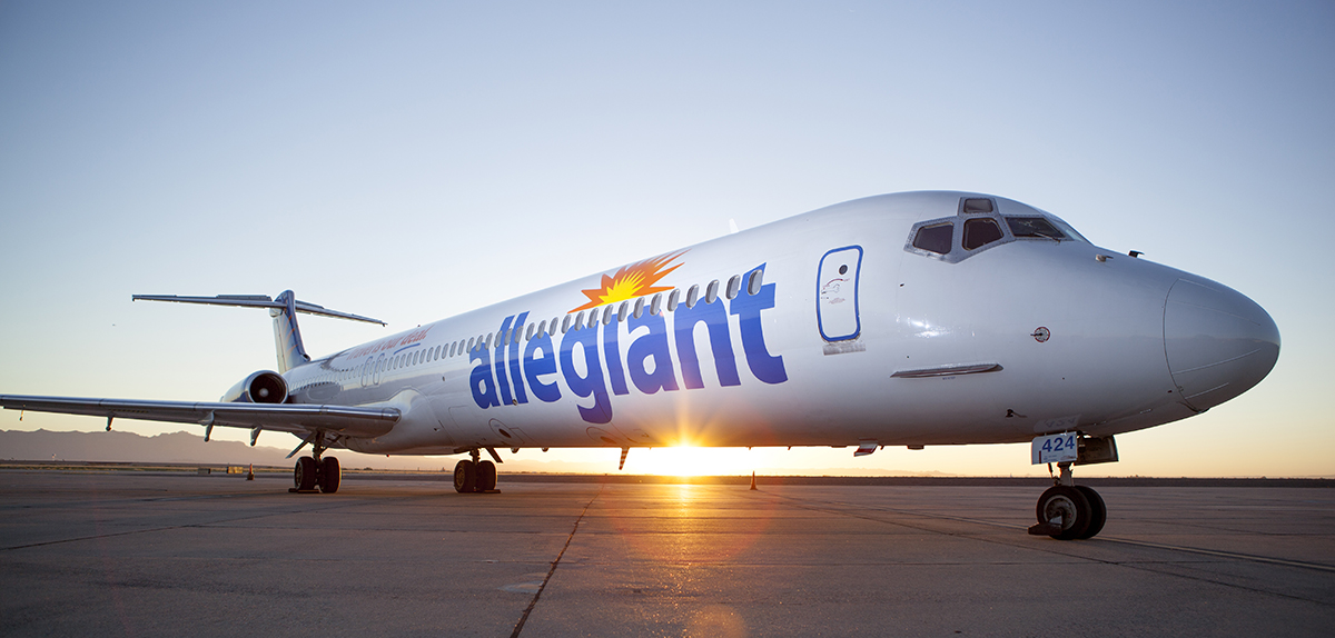 Las Vegas-based Allegiant plans to launch a nonstop service between Charleston and Columbus, Ohio, beginning June 7. (Photo/provided)