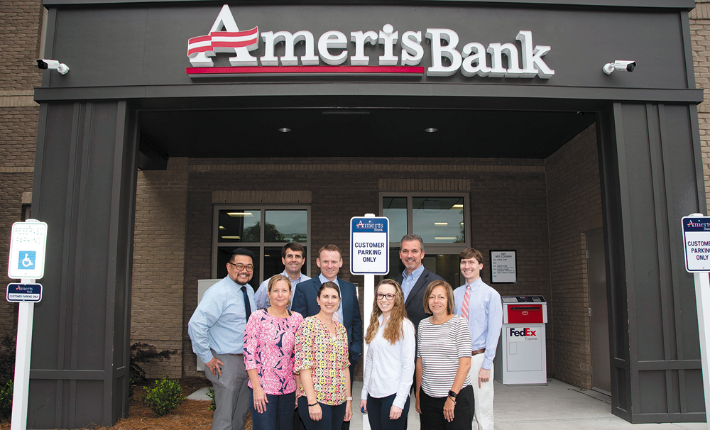 The staff at Ameris Bank in Mount Pleasant is ready to help individuals and small businesses with all of their financial needs. Ameris also has Charleston-area offices in West Ashley and Summerville.