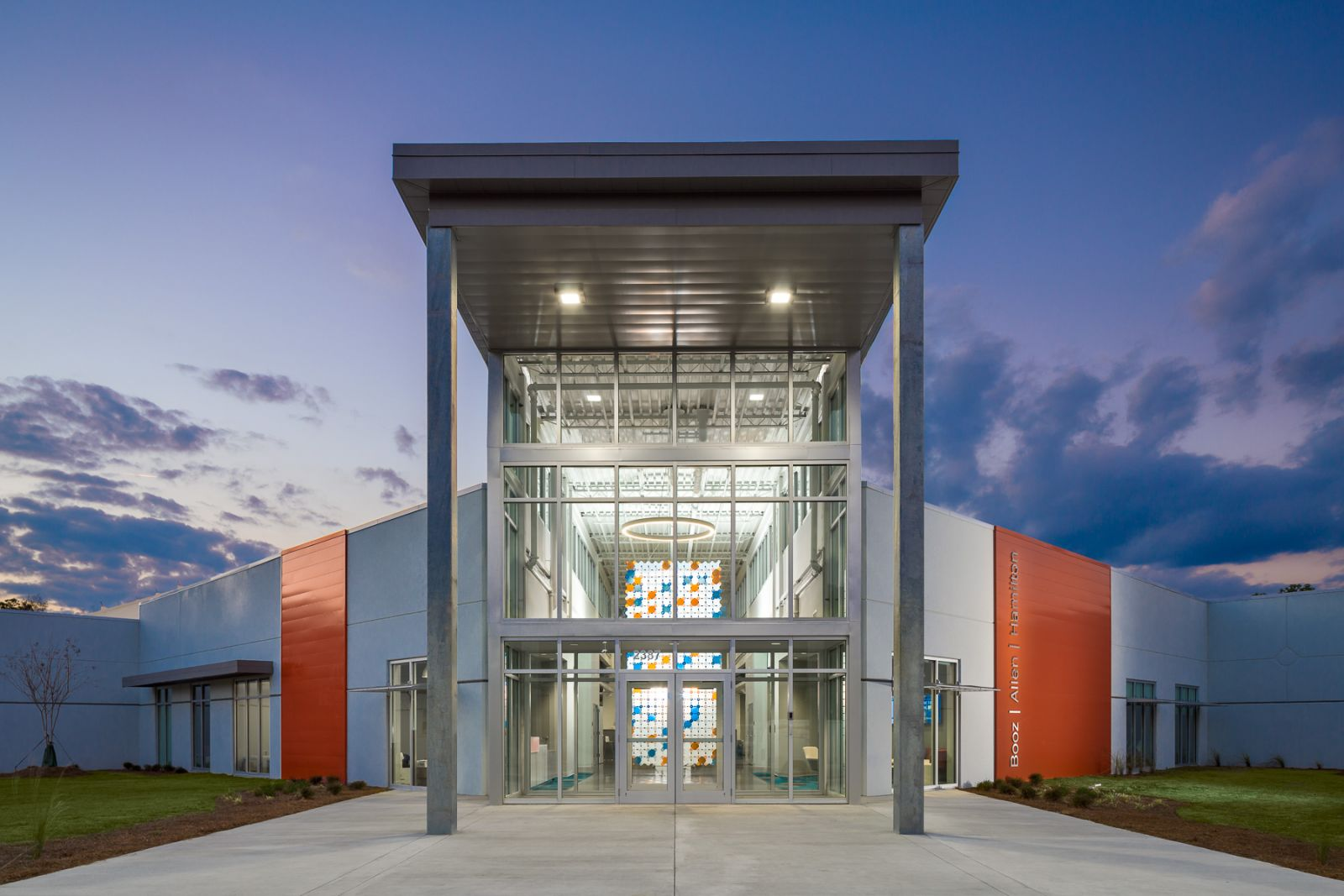 Frampton Construction Co., Agracel Inc. and McMillan Pazdan Smith collaborated on the Booz Allen Hamilton expansion in Berkeley County. (Photo/provided)