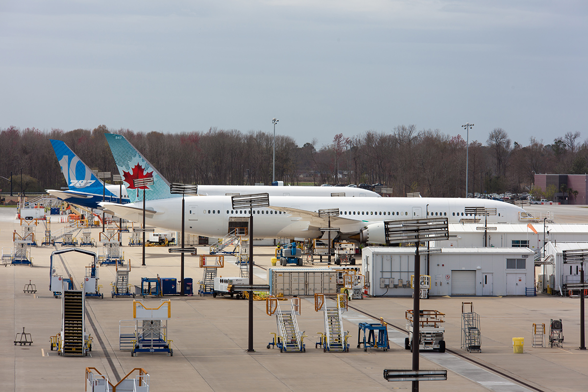A union election has been scheduled for May 31 for Boeing S.C. flight line workers. (Photo/Liz Segrist)