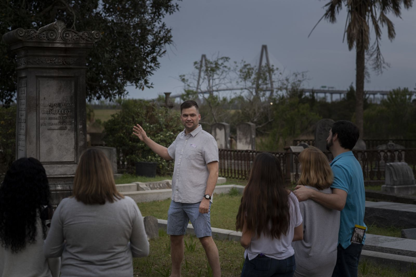 Bulldog Tours is launching the first official walking tour of Magnolia Cemetery this week. Charleston's oldest public cemetery had previously been off limits to commercial tour companies. (Photo/Provided)