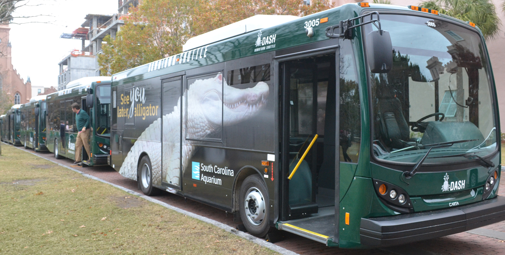 Carta Buys 7 New Buses For Dash Routes Gt Charleston