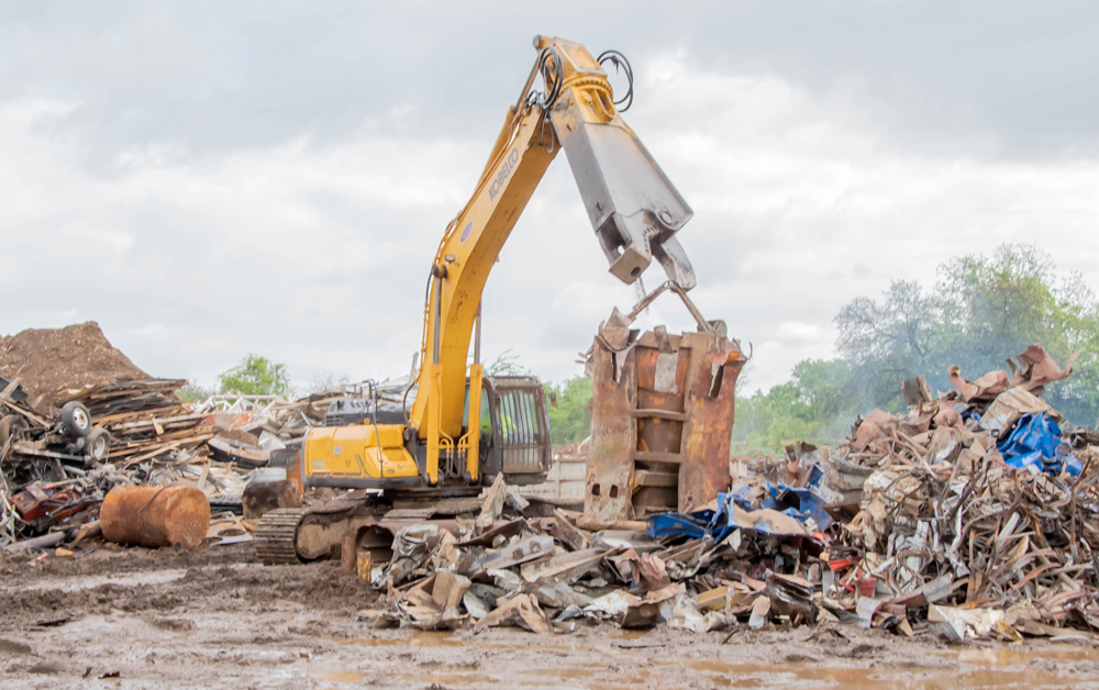 Charleston Steel & Metal annually recycles millions of pounds of scrap metal that would otherwise end up in landfills.