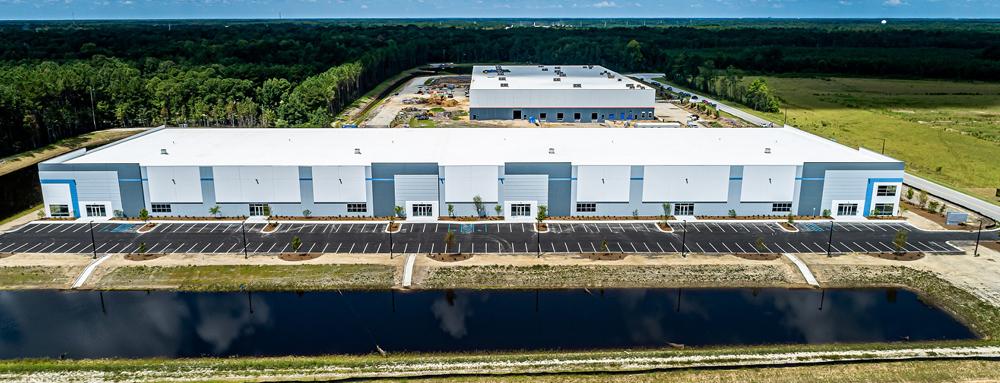 Industrial spec building open for tenants in Summerville
