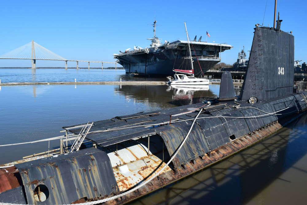 Days Numbered For Clamagore Sub At Patriots Point
