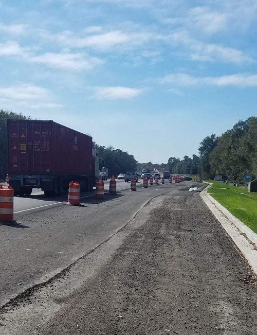 Widening work is underway on Clements Ferry Road in Berkeley County. Officials said it should help alleviate congestion in the area. (Photo/Provided)