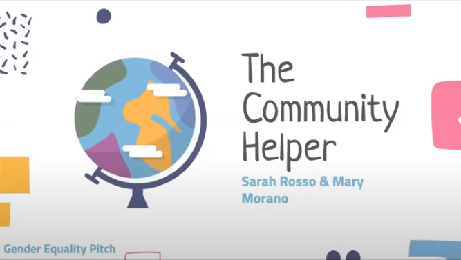 The Community Helper was the winning conceptual appat the College of Charleston's Gender Equality Pitch Competition late last month.