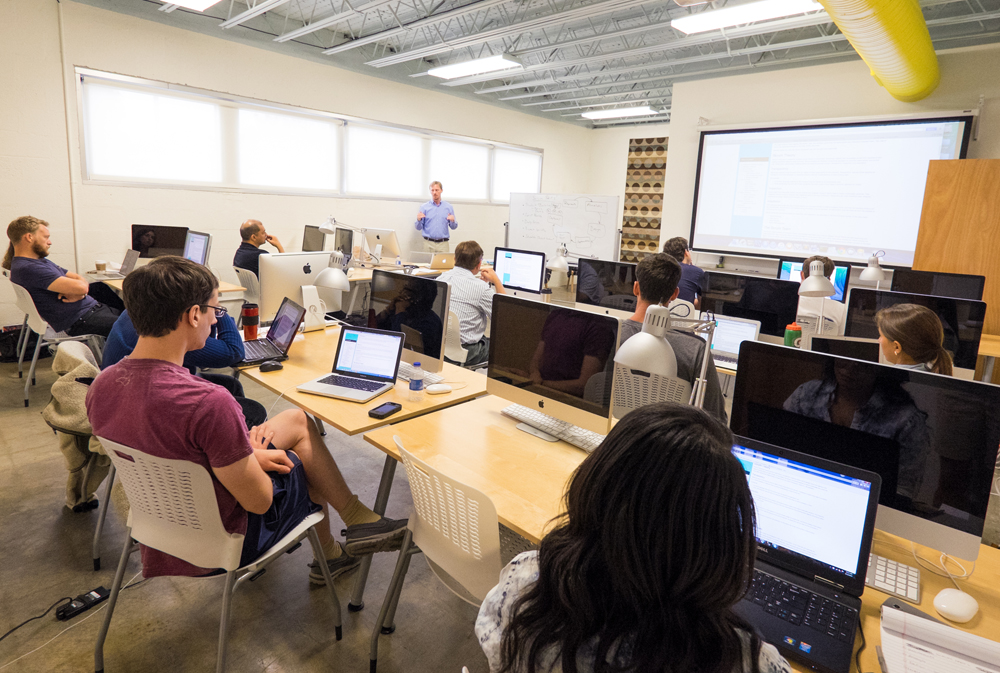 More than 1,200 adults have taken the Charleston Digital Corridor's CodeCamp classes in downtown Charleston. The coursework has recently been revamped. (Photo/Charleston Digital Corridor)