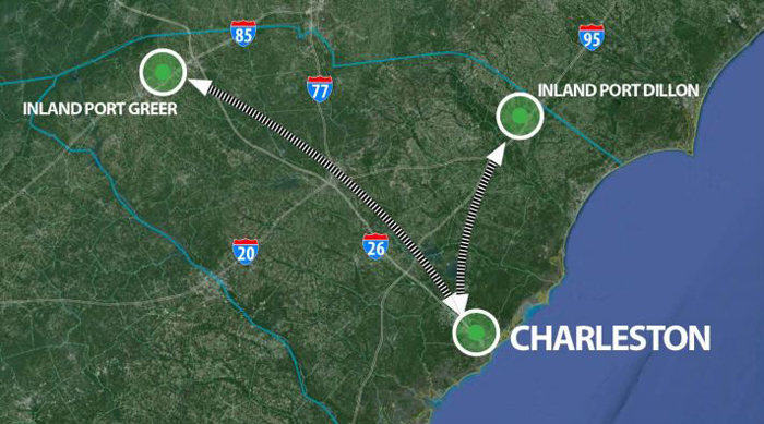 port to open second s c  inland terminal in 2017  u0026gt  charleston business journal