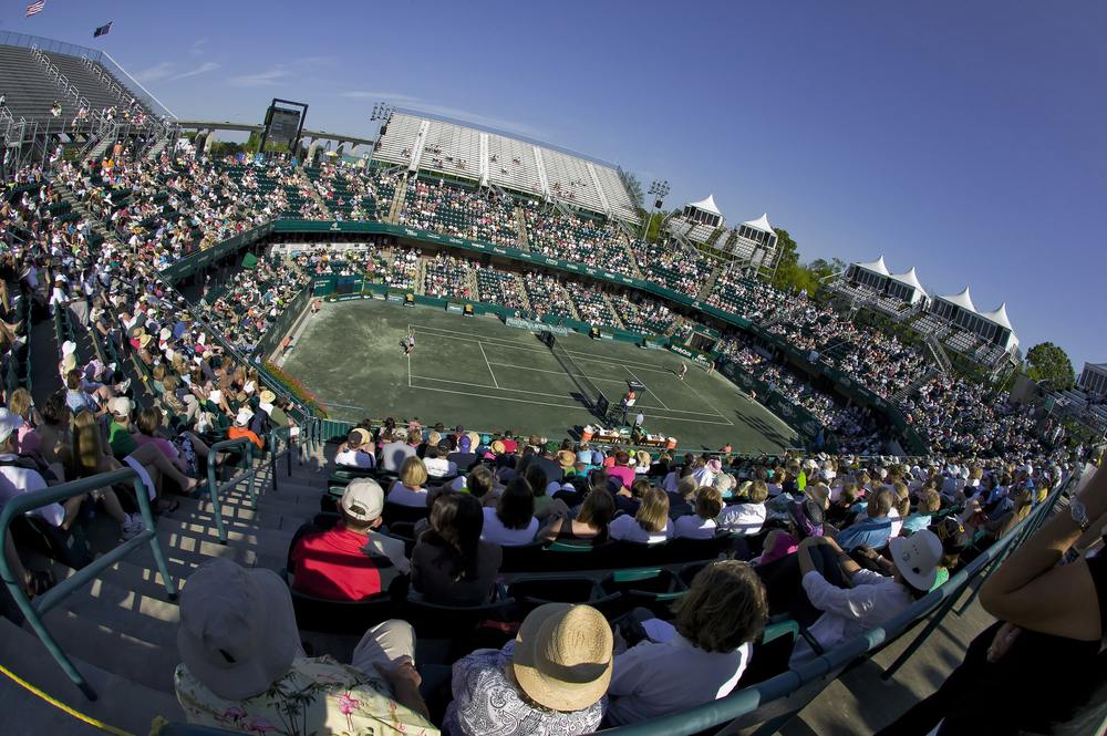 Volvo Car Stadium is host of the Volvo Car open, the largest women's-only tennis tournament in North America. (Photo/File)