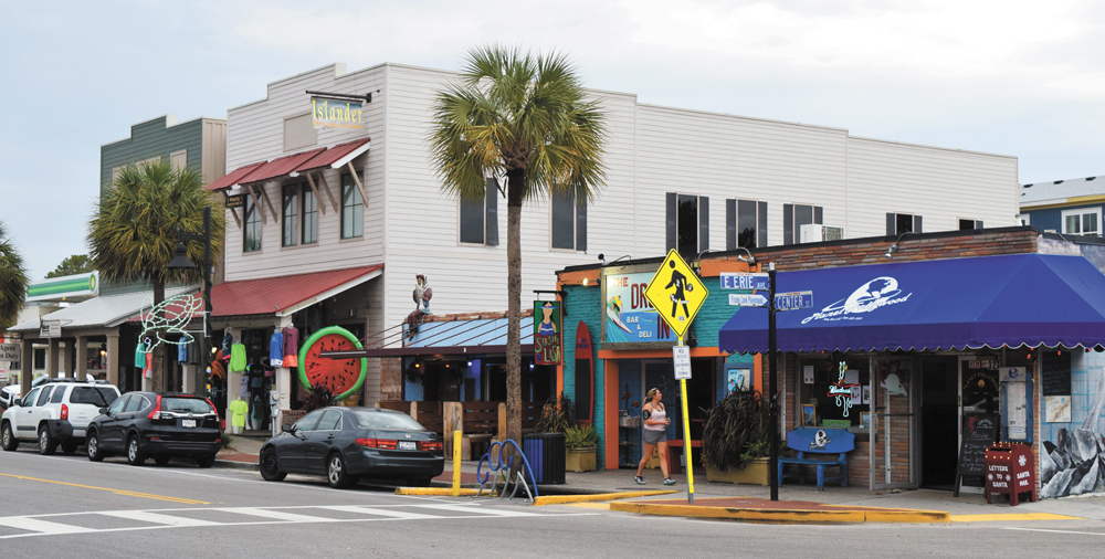 Folly Beach passed an ordinance last month restricting formula businesses from opening downtown. (Photo/Patrick Hoff)