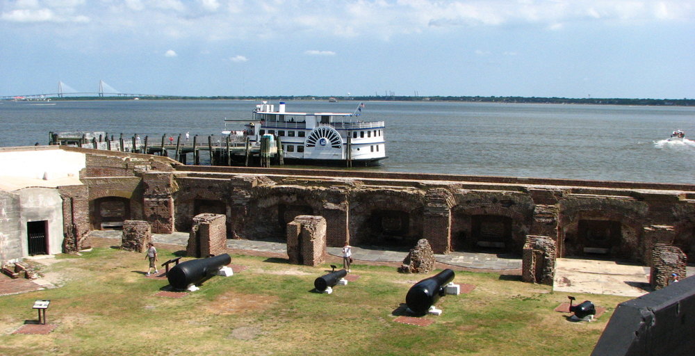 Fort Sumter had the most visitors of any national park in South Carolina, with about 888,000 visitors in 2016. (Photo/File)