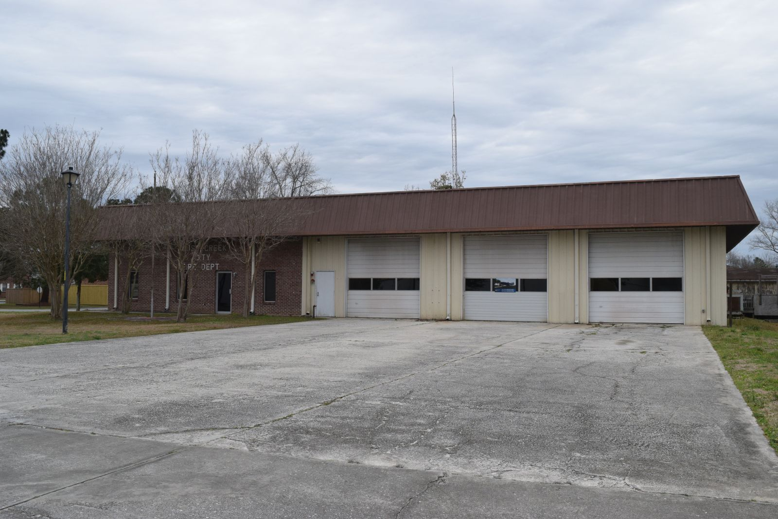 One major location for possible investment in Goose Creek is the former fire station on Button Hall Avenue, which is under contract with the real estate company Cityvolve. (Photo/Patrick Hoff)