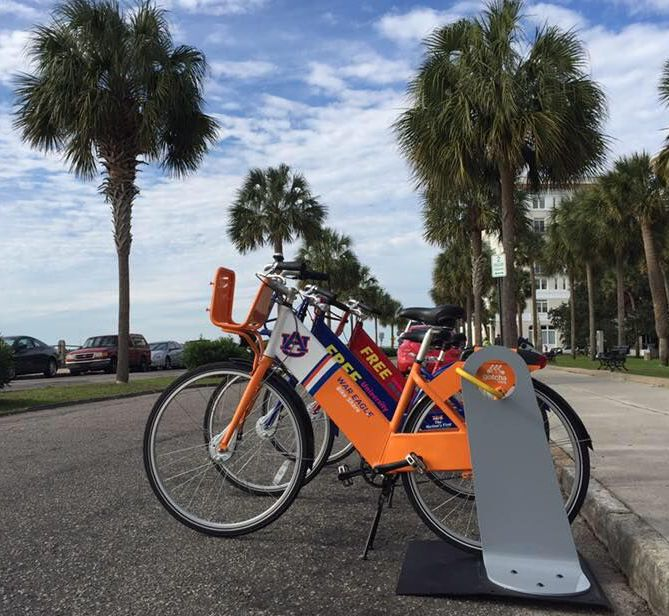 Gotcha Bike plans to build 250 bicycles in Charleston and place them at up to 20 stations throughout the peninsula for its new bike share program. (Photo/Provided)