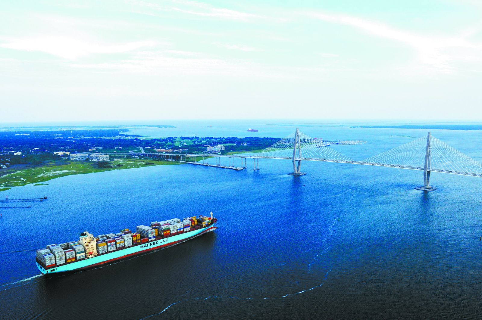 The ports authority hopes to see Charleston Harbor deepened to 52 feet by the end of the decade. (Photo/Provided)