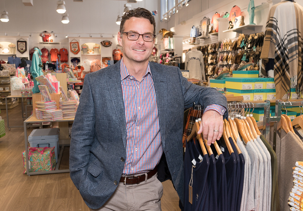 Eric Holzer has been named CEO of Charleston-based retailer Palmetto Moon. (Photo/Provided)