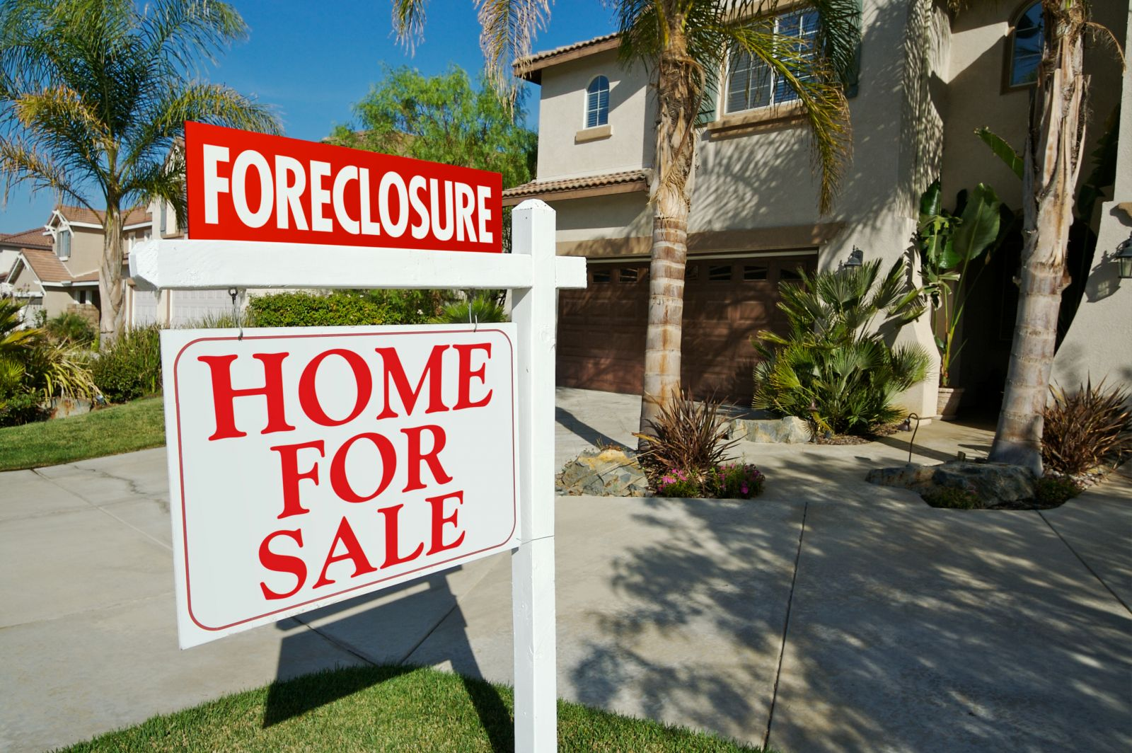Nearly 5,500 homes in the state were in some stage of foreclosure in the first quarter, ended March 31, according to Attom Data Solutions. (Photo/File)