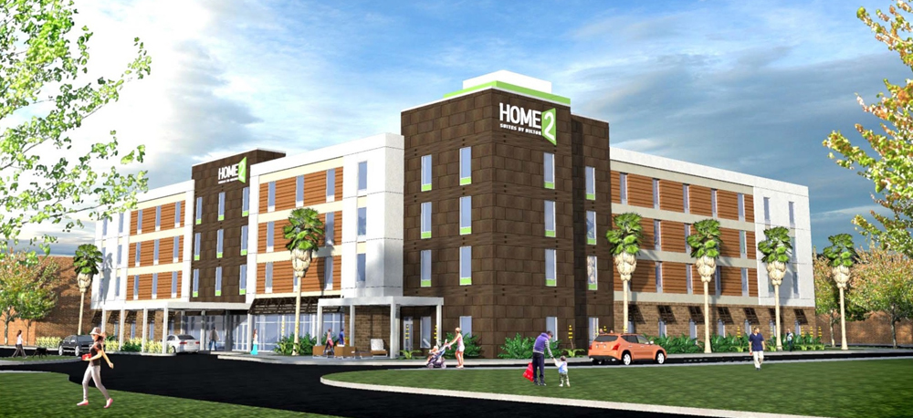 The New Home2 Suites Mount Pleasant Is Scheduled To Open In October 2017 At 1650 James