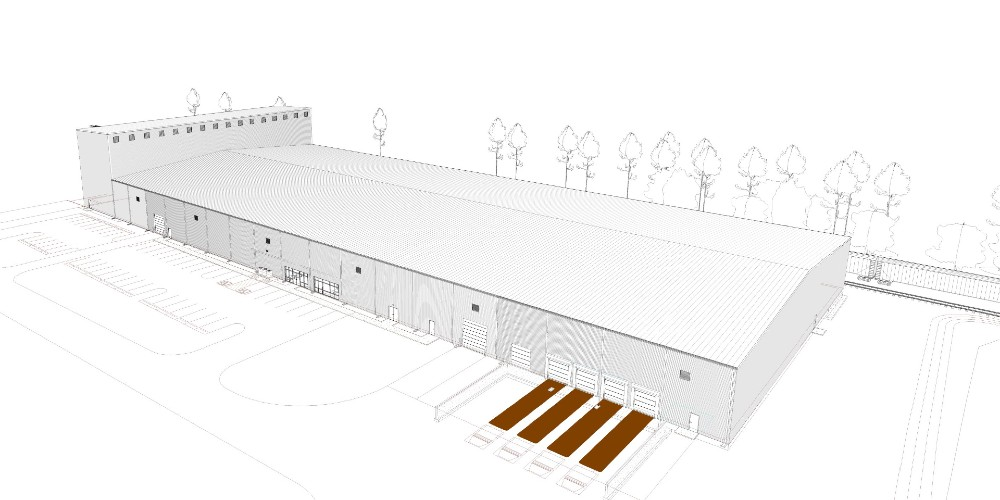 The Orangeburg facility is expected to be complete this fall. (Rendering/Provided)