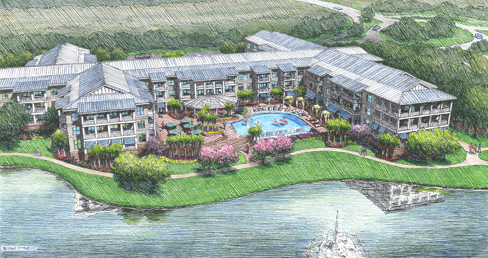 Kiawah Partners is working with Big Rock Partners, a real estate investment management and development firm, to build a yet-unnamed 200-unit senior living community near Kiawah Island. (Rendering/Kiawah Partners)