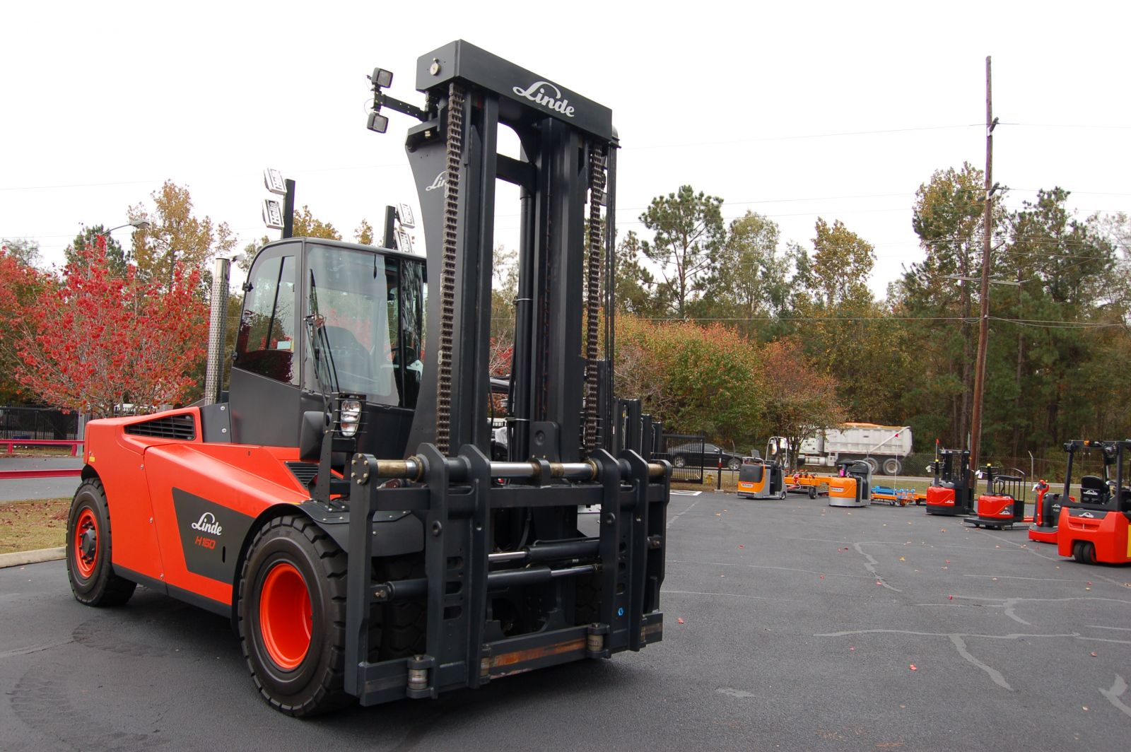 Kion North America, a manufacturer and supplier of materials handling forklifts and industrial trucks, is headquartered in Summerville. (Photo/Andy Owens)