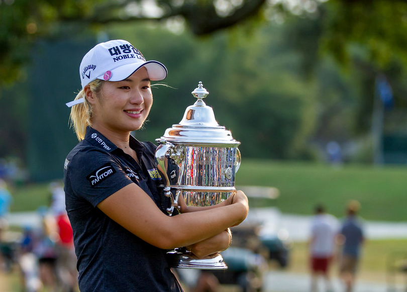 Jeongeun Lee6 won the U.S. Women's Open at the Country Club of Charleston on Sunday. This is her first full-time season on the LPGA Tour. (Photo/Kim McManus)
