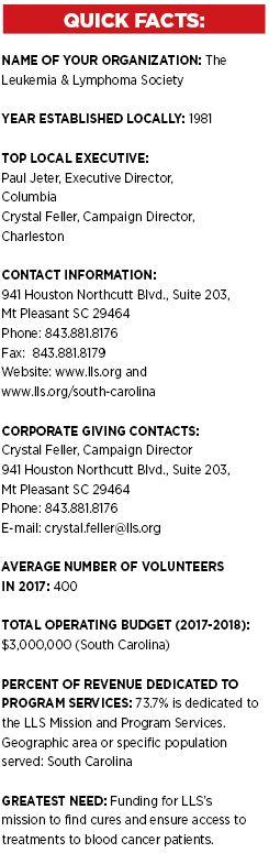 SPOTLIGHT: The Leukemia & Lymphoma Society > Charleston