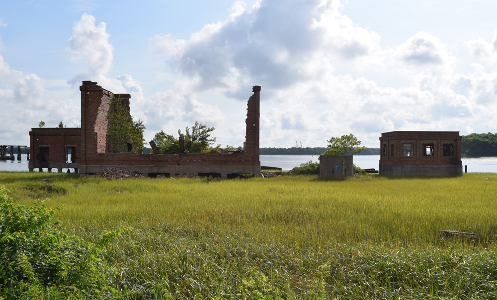 The Lorelei site, which sat on a plot of land known as Laurel Island, is undeveloped except for the remains of a coal tipple near the water. The developer has killed the project. (Photo/File)