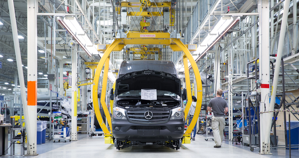 The existing Mercedes-Benz Vans campus has reassambled vans for more than a decade. The expanding site will require an additional 1,300 employees. (Photo/Provided by Mercedes-Benz Vans)