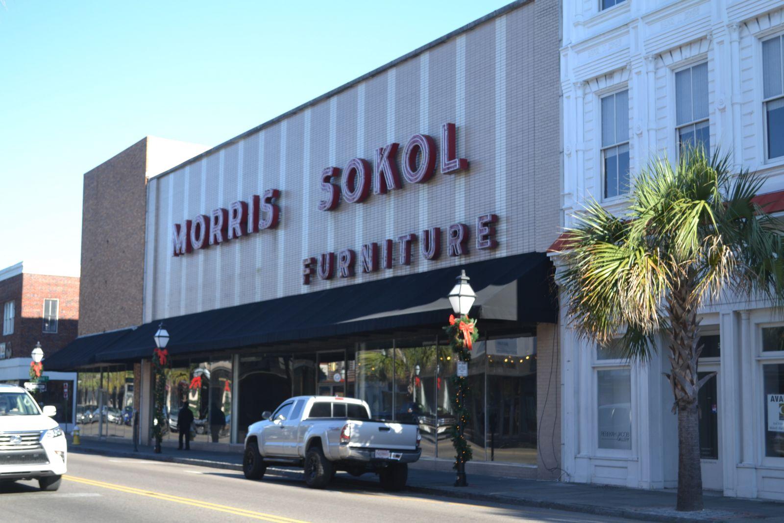 Store Owner Joe Sokol Closed The Morris Sokol Furniture Store At 510 King  St. In