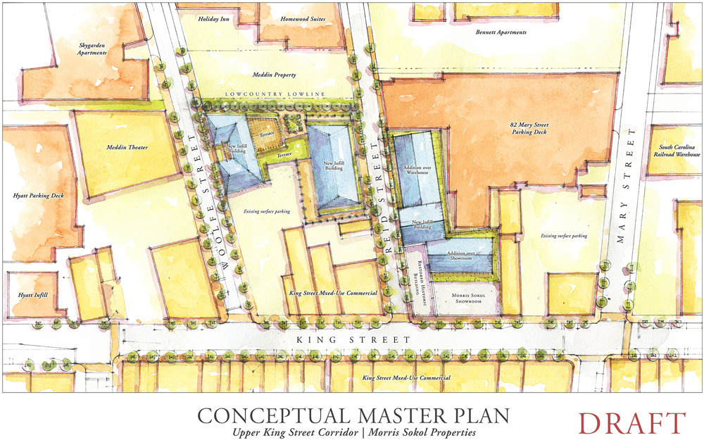 Merveilleux A Conceptual Master Plan For The Morris Sokol Properties Shows What