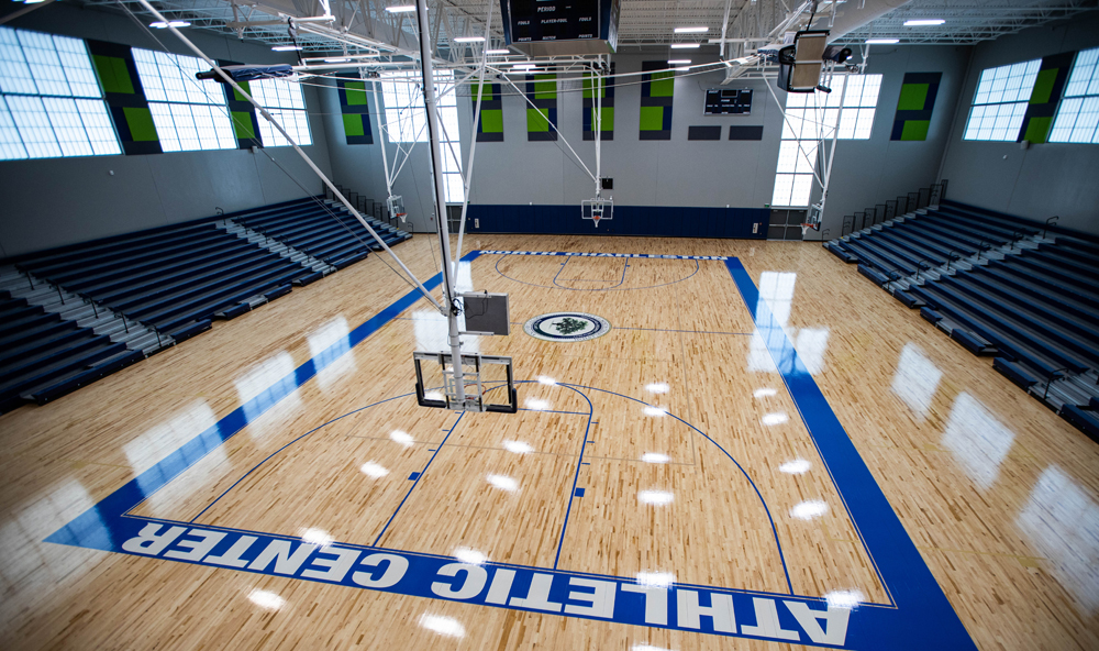 The North Charleston Athletic Center comprises three indoor gymnasiums for multipurpose use. (Photo/North Charleston)