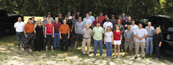 The staff at Parker Land Surveying.