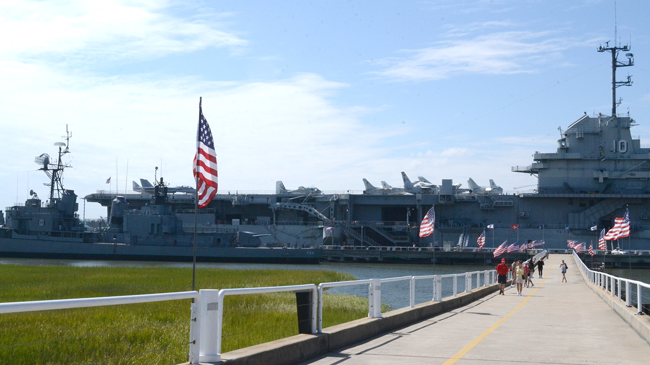 Last year was a robust year for attendance at Patriots Point in Mount Pleasant. (Photo/file)