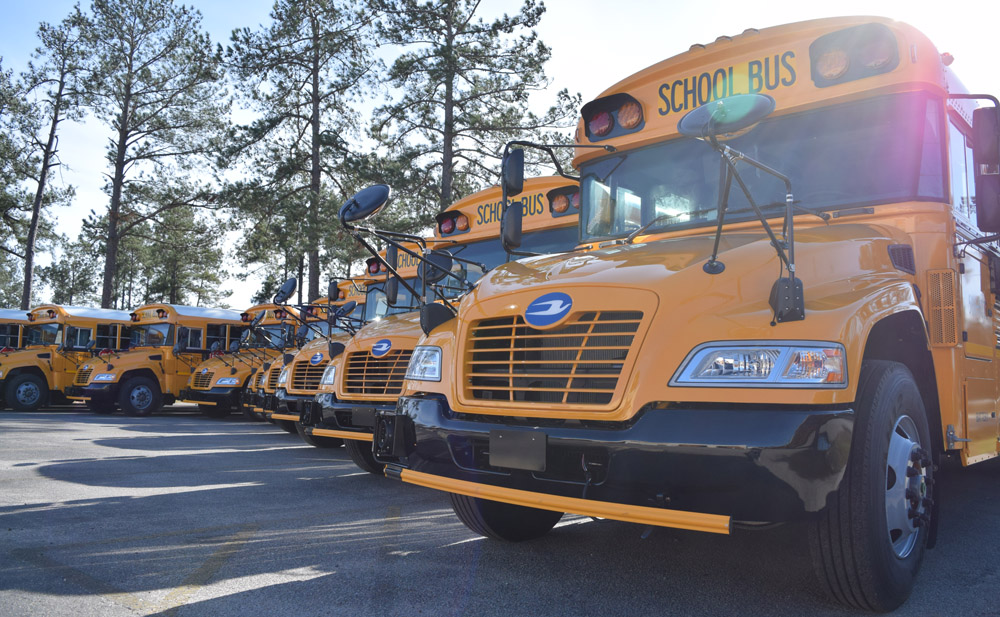 propane powered school buses rolling in berkeley dorchester rh charlestonbusiness com Roush Cleantech Livonia MI Roush CNG
