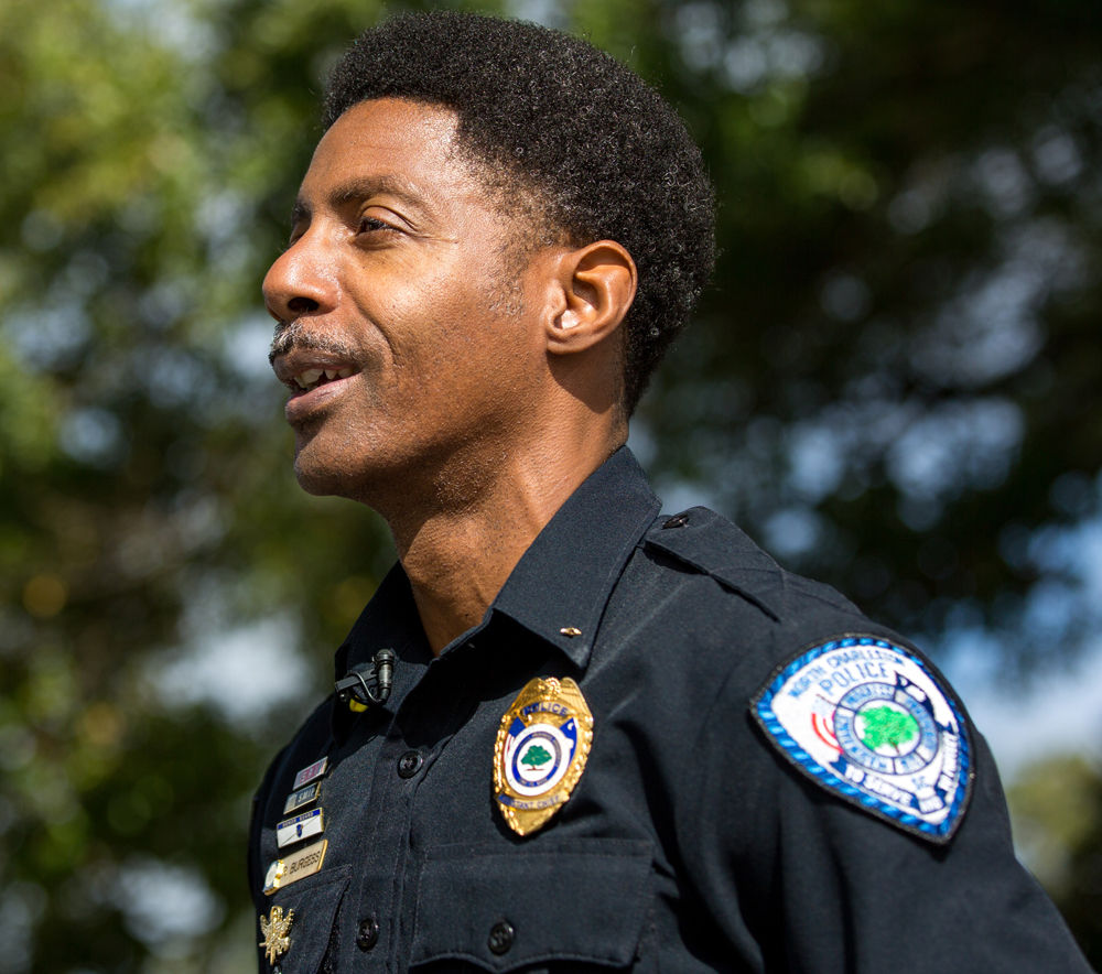 Reggie Burgess will be sworn in as North Charleston's ninth police chief since the city was incorporated. He joined the North Charleston Police Department in 1989 as a patrolman. (Photo/North Charleston)