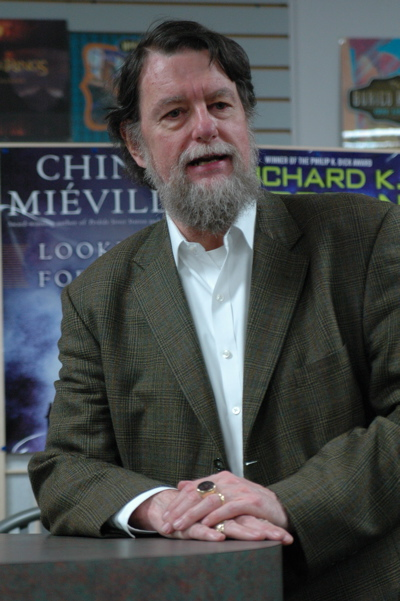 James Oliver Rigney, pen name Robert Jordan, that other Citadel grad best-selling author. (Photo/Jeanne Collins)